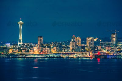 Part of the Seattle Skyline
