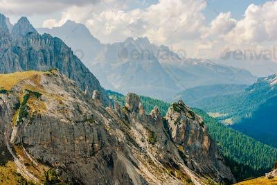 Dolomites Mountain Range
