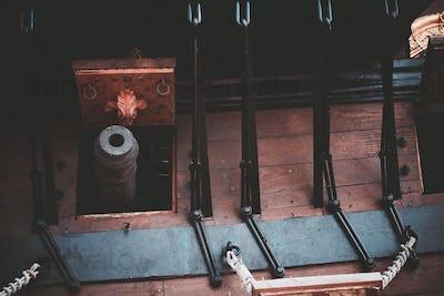 Galleon Cannon Closeup