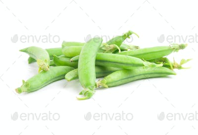 freshly green peas