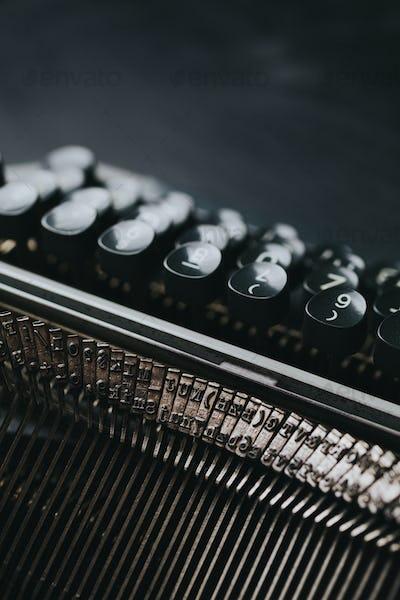 Old typewriter series
