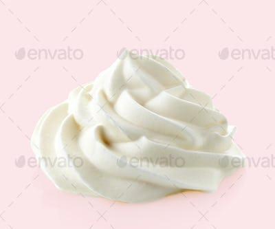 whipped sweet cream