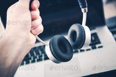 Wireless Stereo Headphone Set