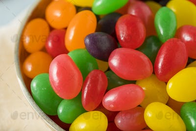 Sweet Gummy Jelly Bean Candy