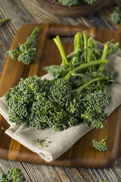 Raw Green Organic Broccolini