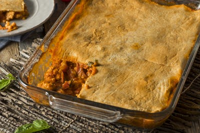 Homemade Upside Down Pizza Casserole