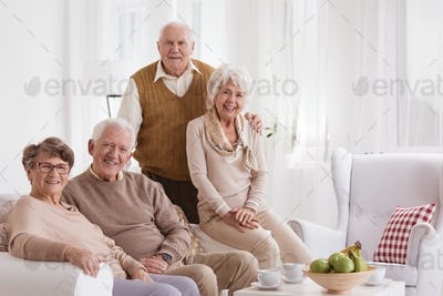 Seniors at day-care center