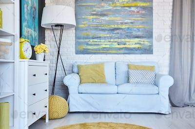 Functional living room