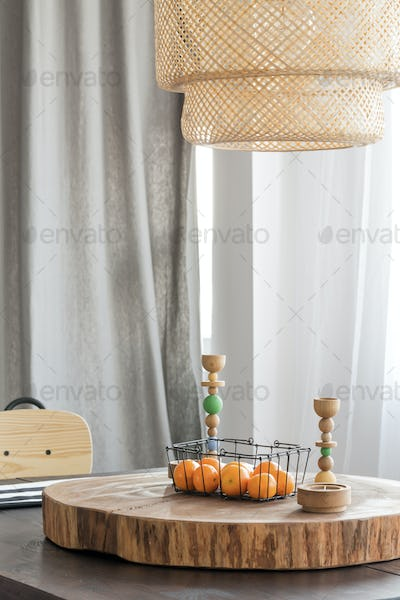 Wooden home decoration