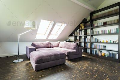 Quiet room in the attic