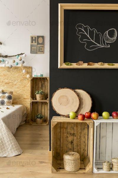 Autumn studio apartment