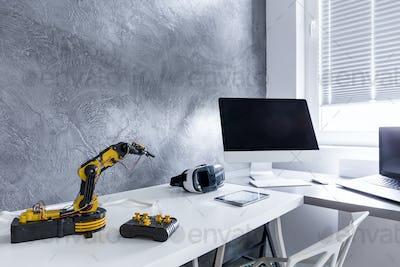 Technology lover's desk