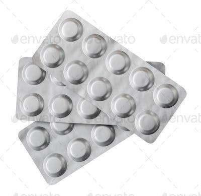 Isolated Medical Blister Packs