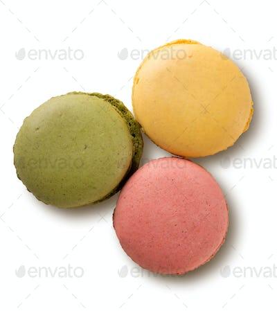 Caramel colored  macarons