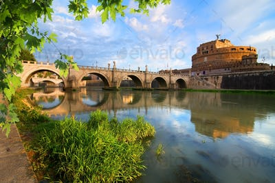 Italian bridge of Saint Angelo