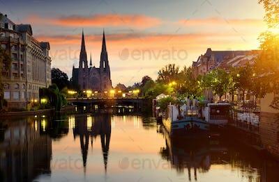 Church in Strasbourg