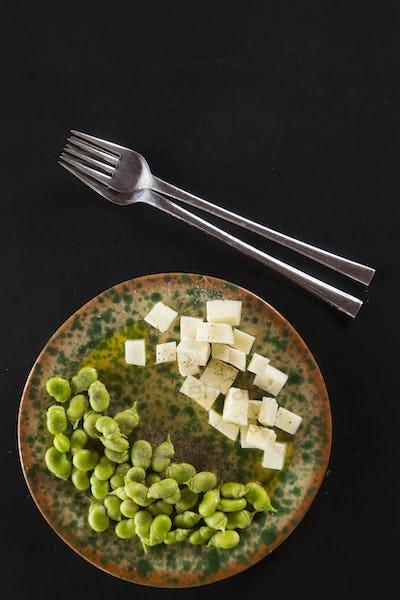 Pecorino cheese pods