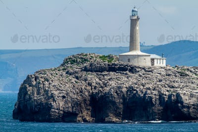 Lighthouse in  Mouro Island