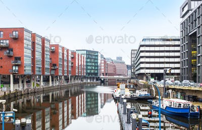 City view of Hamburg, Germany