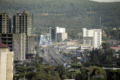 new construction in Addis Ababa