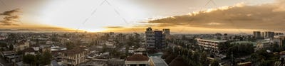 180 degree panorama of Addis Ababa