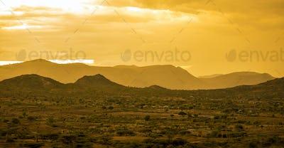 Desert of Eastern Ethiopia near Somalia