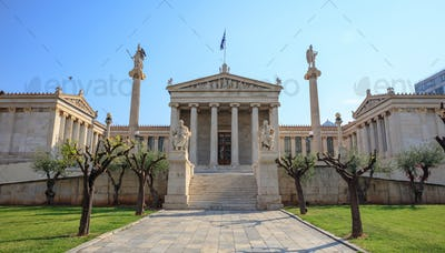 Athens Greece - The Academy buildings