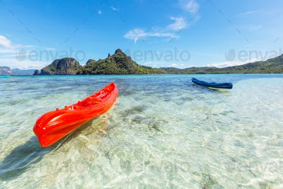 Kayak in Palawan