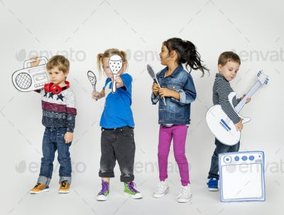 Studio People Kid Model Shoot Race