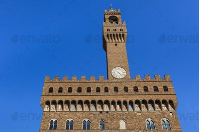 Palazzo Vecchio. Florence, Italy