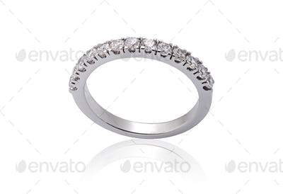 White Gold Engagement Rings with Diamonds