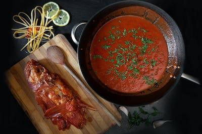 Ready Tomato And Scorpionfish Sauce