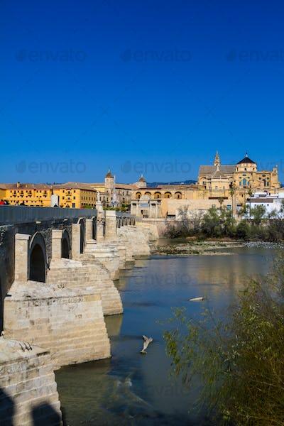 Mezquita and roman bridge
