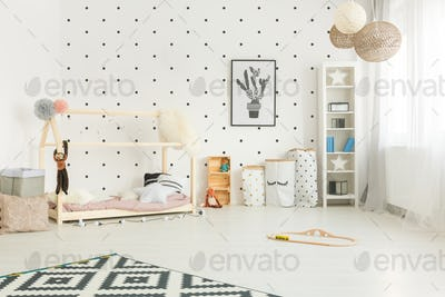 Scandi style child room