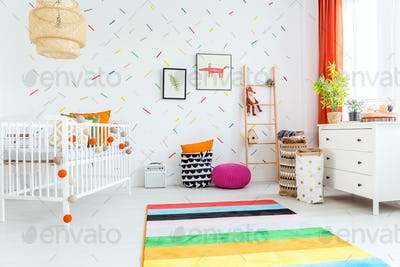 Spacious room for kids