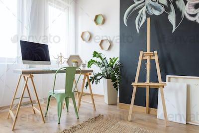 Bright work space
