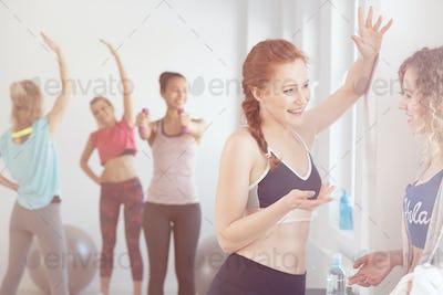Break during workout