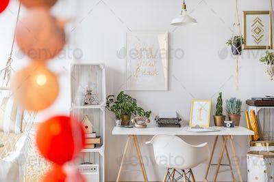 Modern designed apartment
