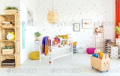 Scandinavian design of room