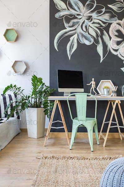 Modern work area