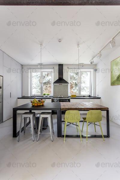 Inspiring loft kitchen