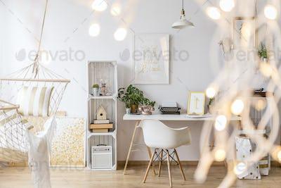 Cozy girl's apartment