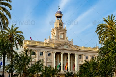 City hall of Cadiz, Spain