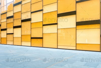 glass curtain wall background