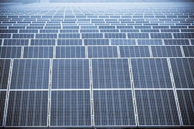 solar energy panels closeup