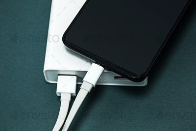 Power bank and mobile phone