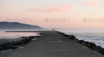 Pacific Ocean West Coast Crescent City Battery Point Pier