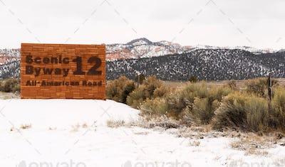 Scenic Byway 12 All American Road Utah USA North America