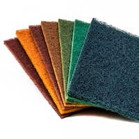 Scrubber pads set of 7 colours