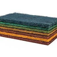 Household cleaning sponge for cleaning dished
